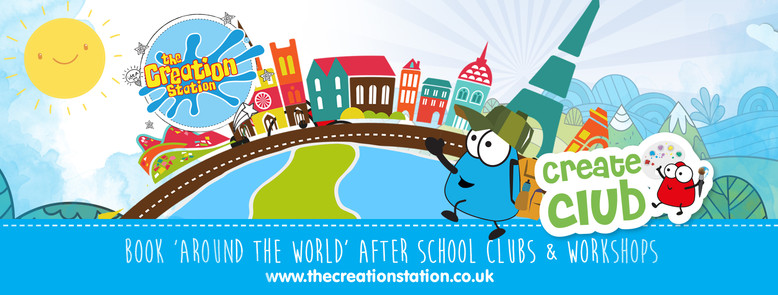 The Creation Station  -Create Club   around the world cover image clubs and workshops