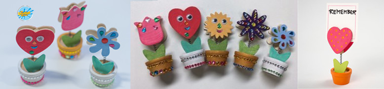 Creation Station  wooden party holders activities