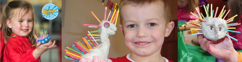 Creation Station clay arty parties  for kids