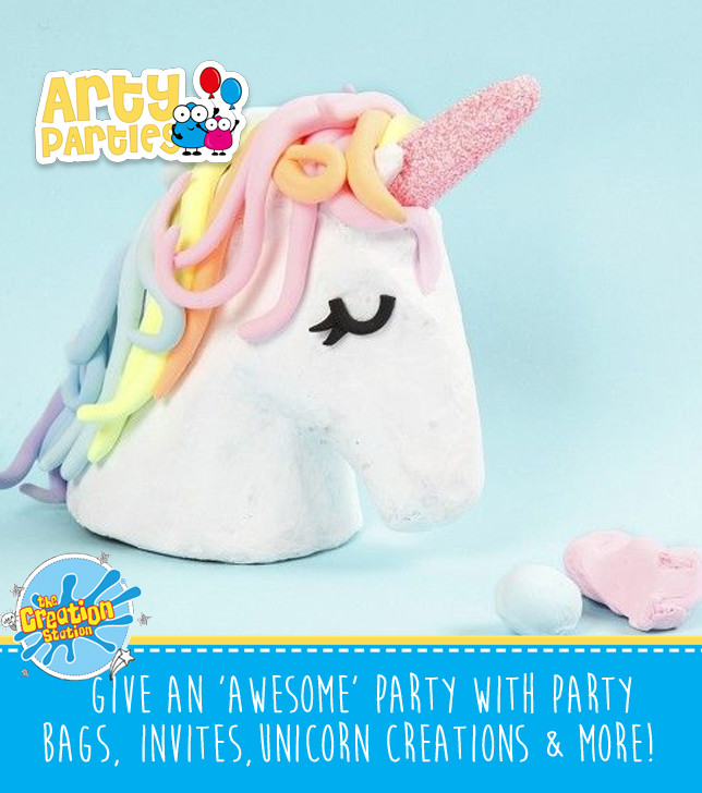 Kids party entertainment unicorn creations