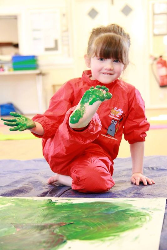Sensory play can help your child's development