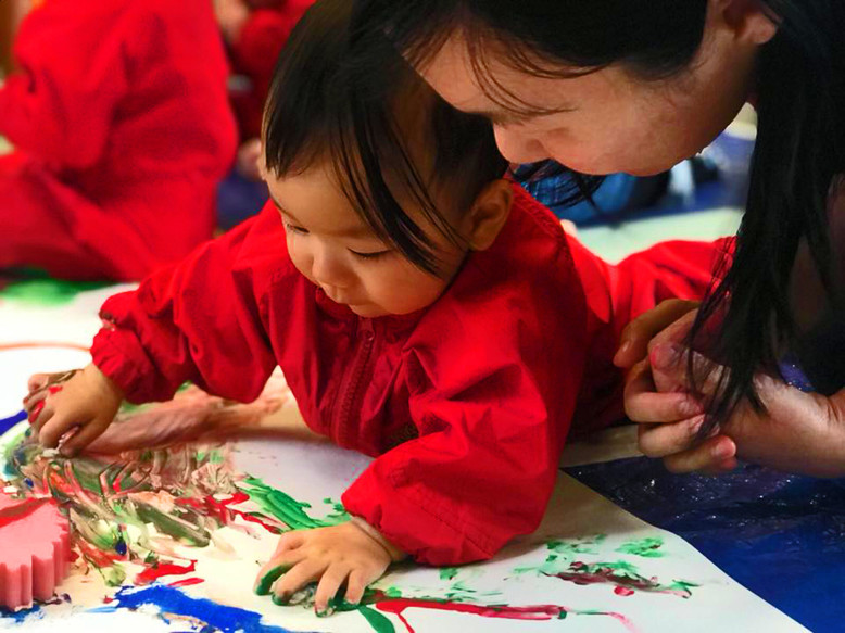 Being creative builds your child's confidence