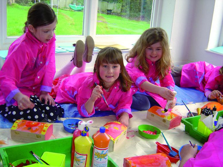 Art and craft birthday parties
