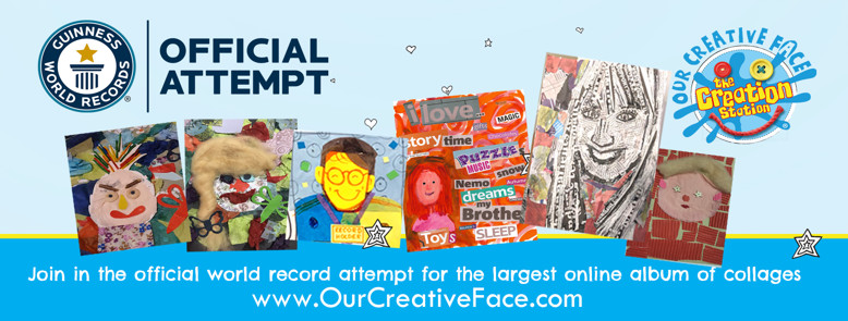GWR  Our Creative Face Collage