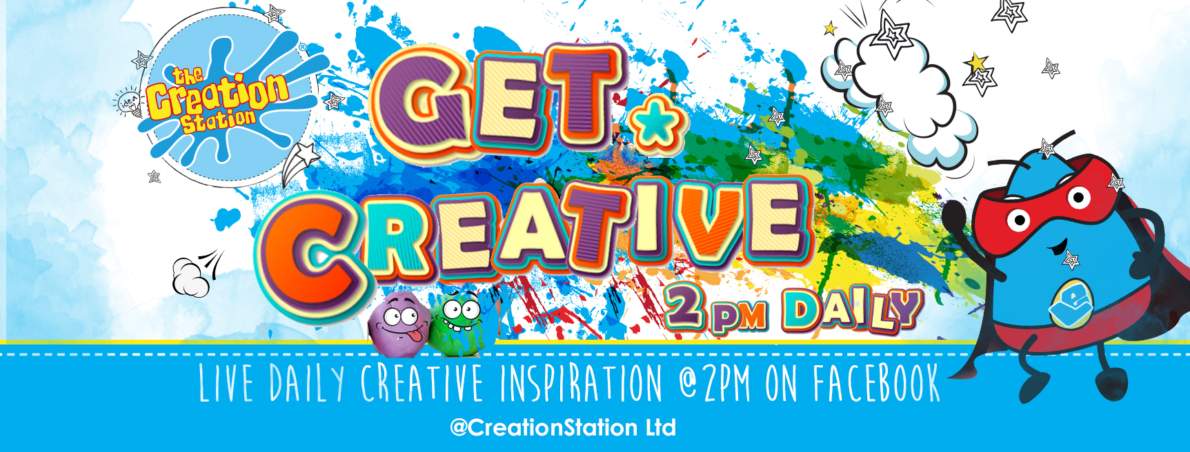 Creation Station Live Creative sessions