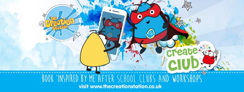 Create Club   Inspired me  - wellbeing school clubs