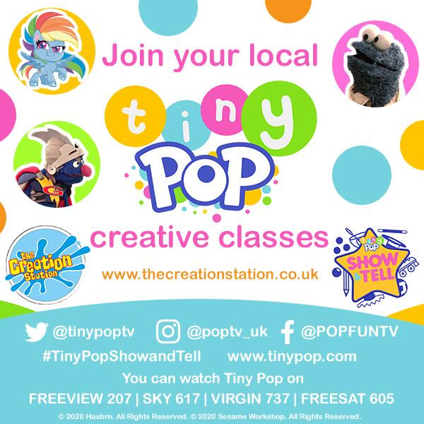 Kids classes Tinypop creation station classes