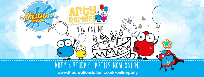 Online parties by Creation Station