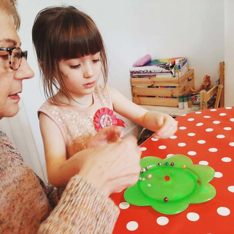 Creation Station intergenerational classes